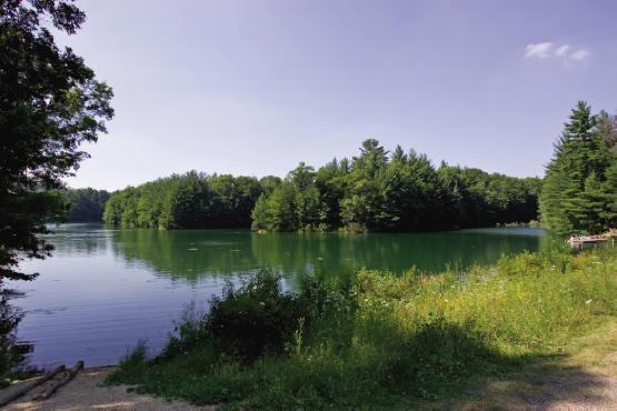 Alpine Hills Lake, Juneau County Central Wisconsin