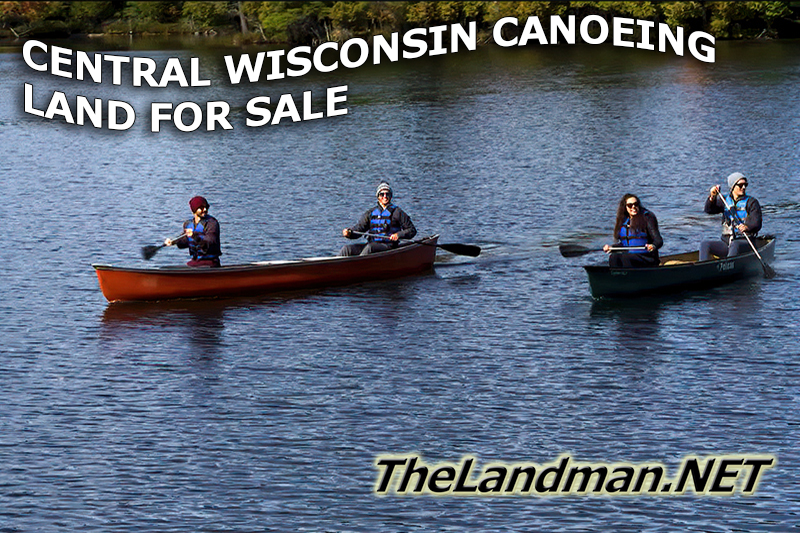Central Wisconsin Canoeing Land for Sale