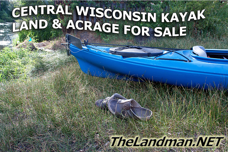 Central Wisconsin Kayaking Land and Acrage for Sale