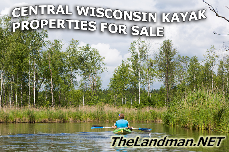 Central Wisconsin Kayaking Properties for Sale