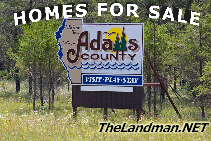 Adams County WI Houses for Sale Homes Log Cabins Lake Cottages