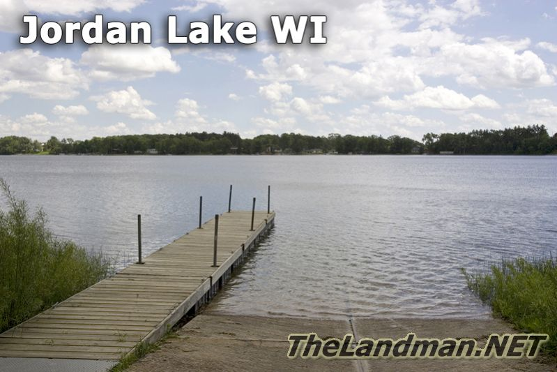 Jordan Lake Wisconsin