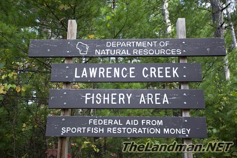 Lawrence Creek WI Trout Stream