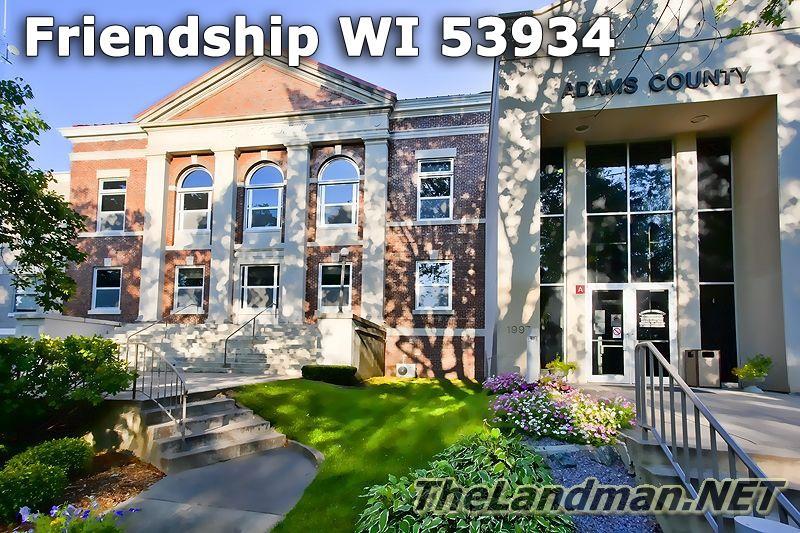 Friendship WI 53934