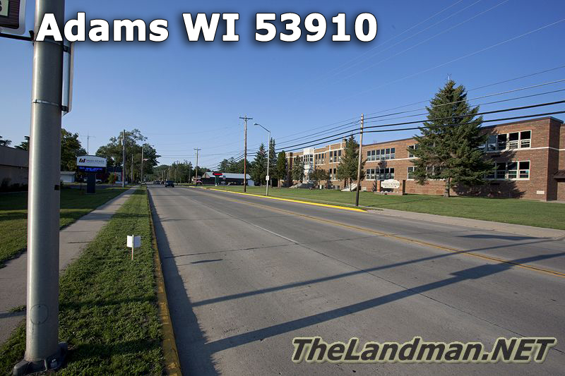 City of Adams WI 53910