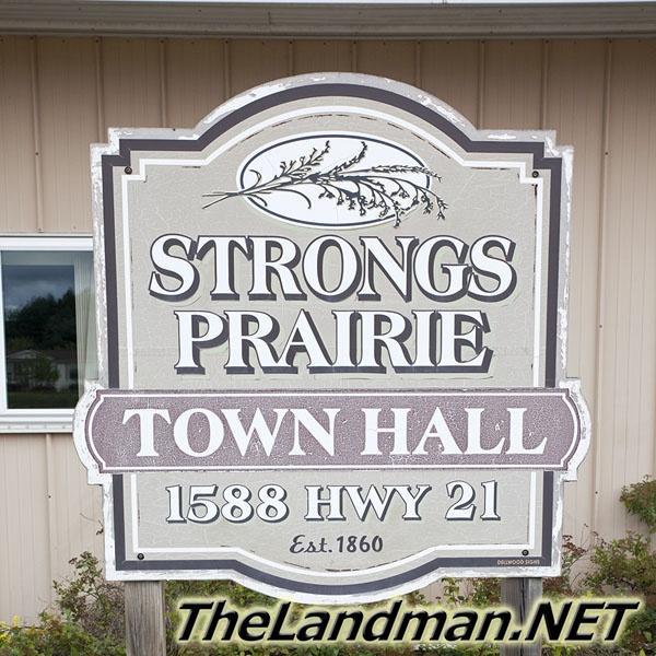 Town of Strongs Prairie WI