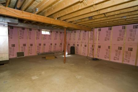 full unfinished basement
