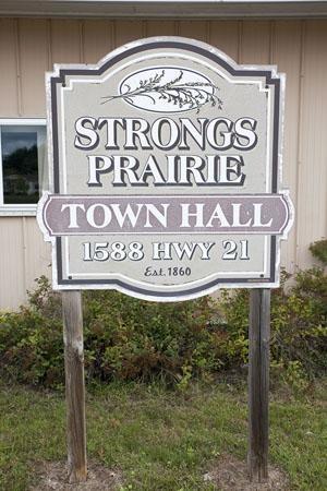 Strongs Prairie Township WI