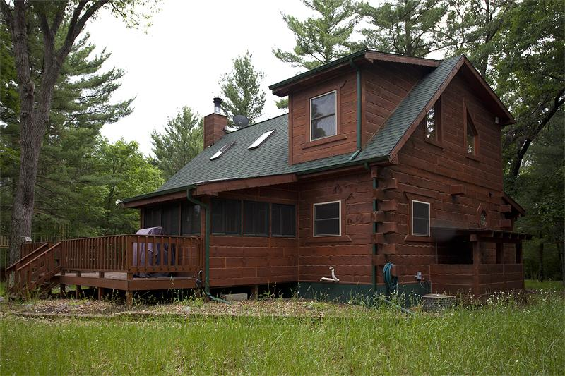 Custom Log Home for Sale