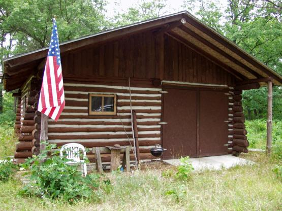 Hunting Cabin for Sale on 40 Wooded Acres