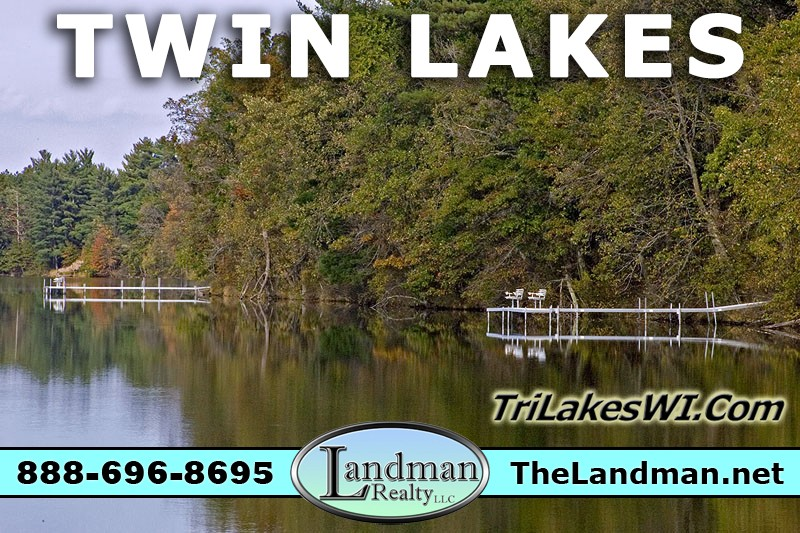 Twin Lakes WI Rome Township Wisconsin