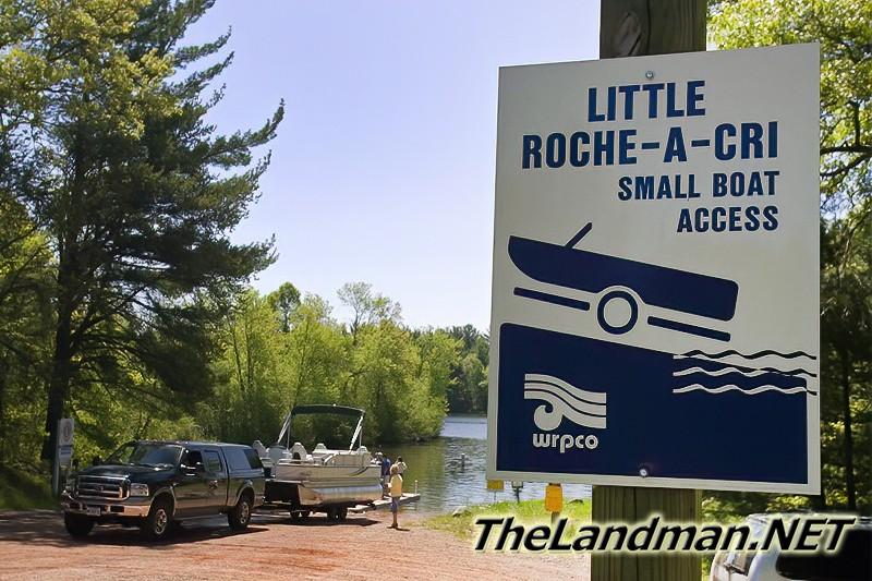 Little Roche-A-Cri Small Boat Access on Castle Rock Lake Video