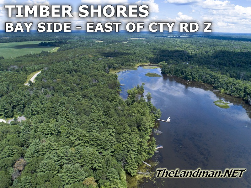 Timber Shores WI Bay Side Video on Castle Rock Lake