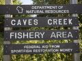 Westfield WI - Caves Creek Fishery Area
