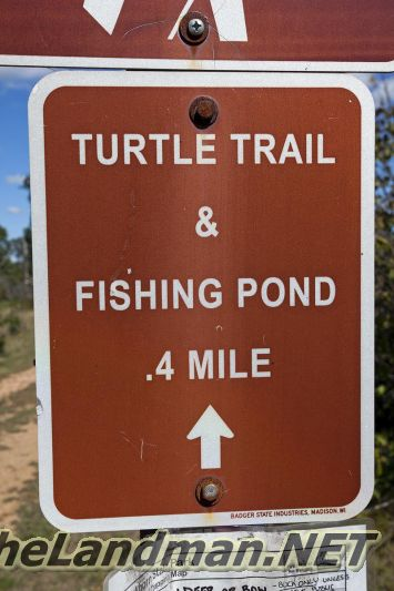 Turtle Trail and Kids Fishing Pond