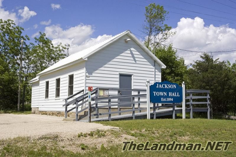 Jackson Township - Jackson Town Hall in Adams County, WI