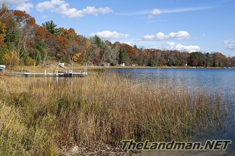 Twin Lakes located in Waushara County, WI