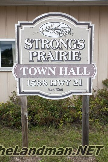 Strongs Prairie Township WI