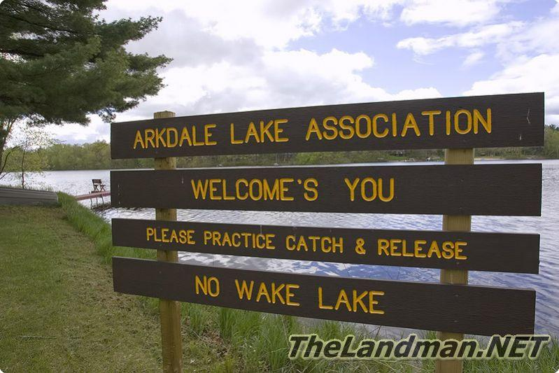 Arkdale Shores Subdivision is on Arkdale Lake in Arkdale, WI.