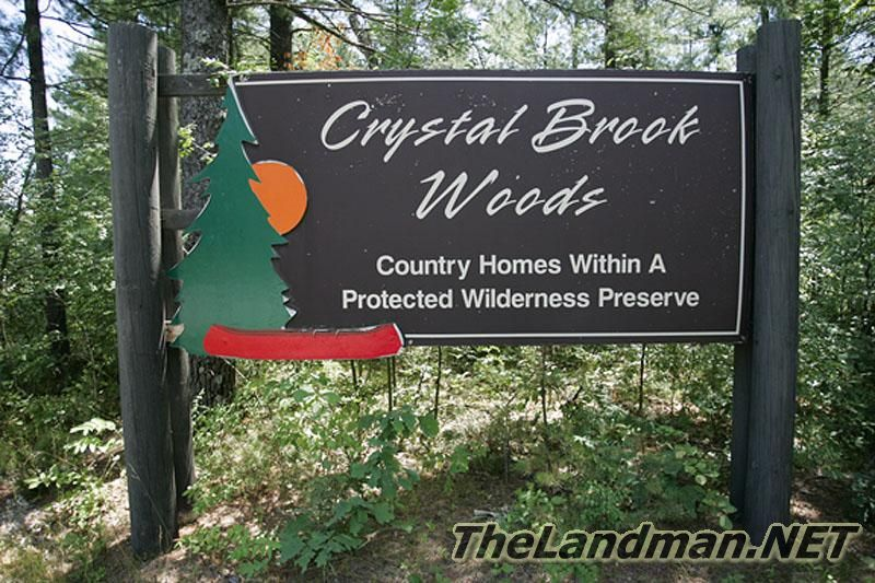 Photo of Crystal Brook Woods Sign