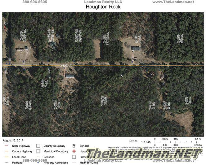Houghton Rock Fall Aerial