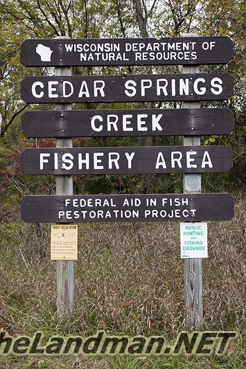 Willow Creek Fishery Area Spring Creek East Parking Lot Pictures