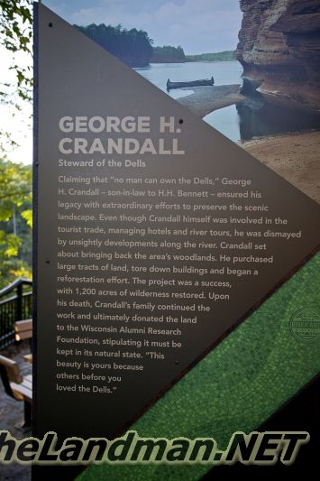 George H Crandall - Steward of the Dells