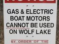 Boat Motors Cannot Be Used