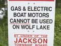 No Gas Motor Lake