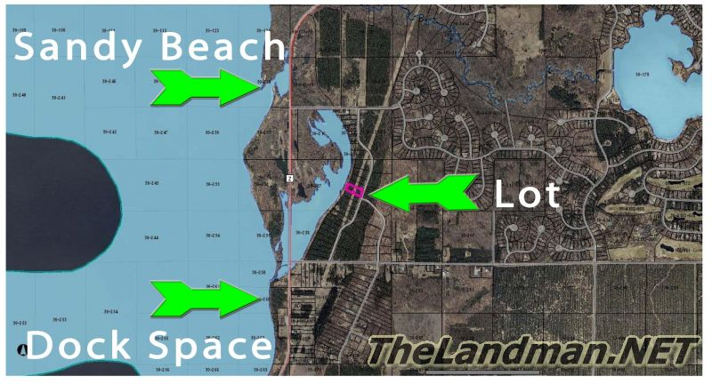 Twin Lakes Development is located in Rome Township, Adams County, WI.