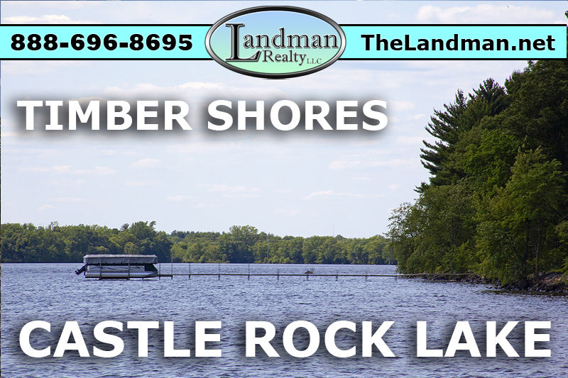 Castle Rock Lakefront Lot for Sale in Timber Shores