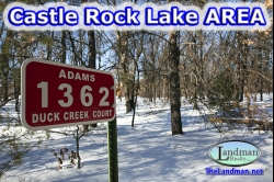 1792893, 1792893  - Camp or Build by Castle Rock Lake.