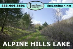 1802835, Camp or build with Lake Access to Alpine Hills Lake!