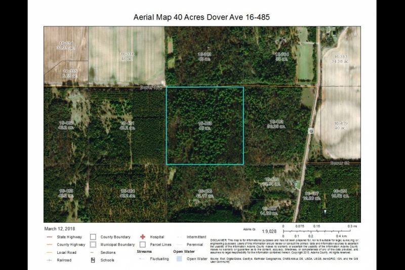 Aerial 40 Acres Dover Ave 16-485