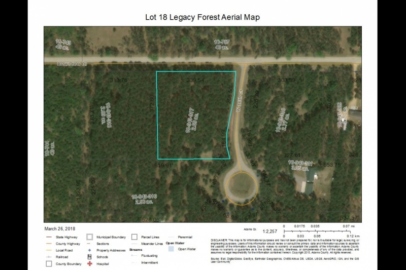 Lot 18 Aerial Map