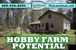 1830370, Home on 20 Acres Near Big Lakes