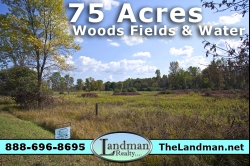1840917, SOLD! 75+ Acres of Prime Hunting Land For Sale!