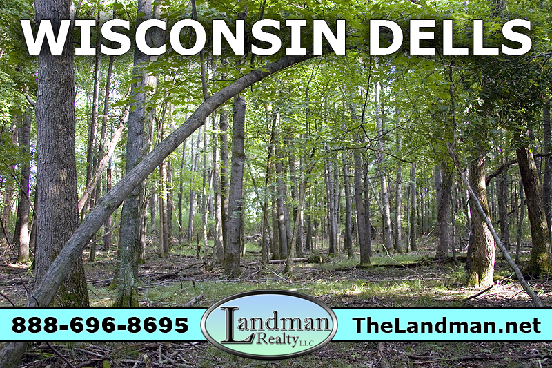 Build or camp just outside Wisconsin Dells