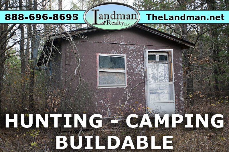 Wisconsin Hunting Cabin on Acreage for Sale