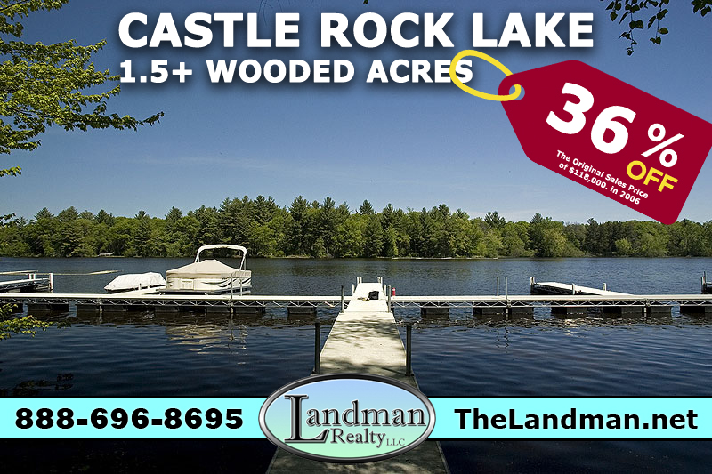 Waterfront Acreage on Castle Rock Lake
