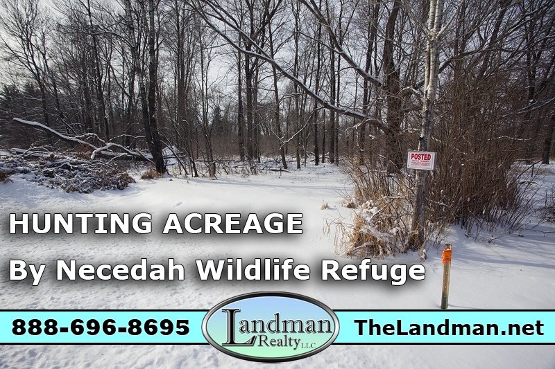 Wisconsin Hunting Acreage for Sale by Necedah Wildlife Refuge