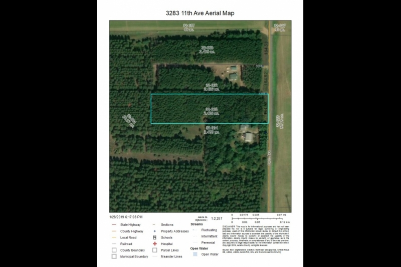 3283 11th Ave aerial map