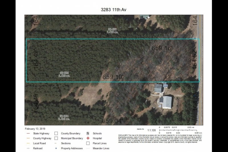 3283 11th Ave Fall aerial map
