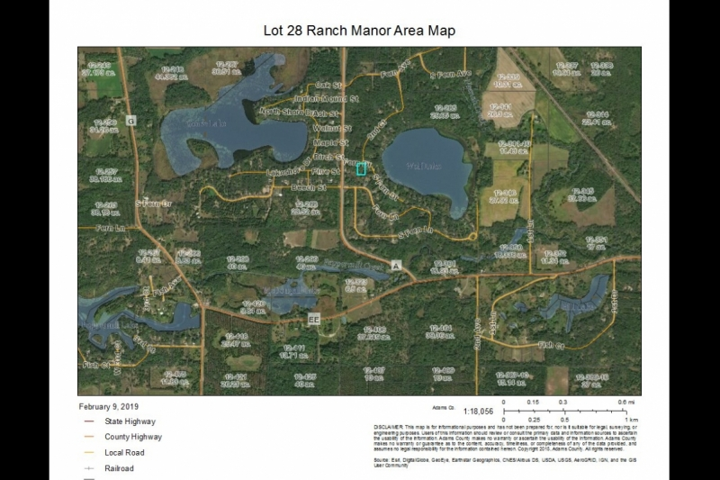 Ranch Manor Lot 28 area map
