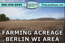 1853427, Waushara County 20+ Acres of Farmland For Sale!