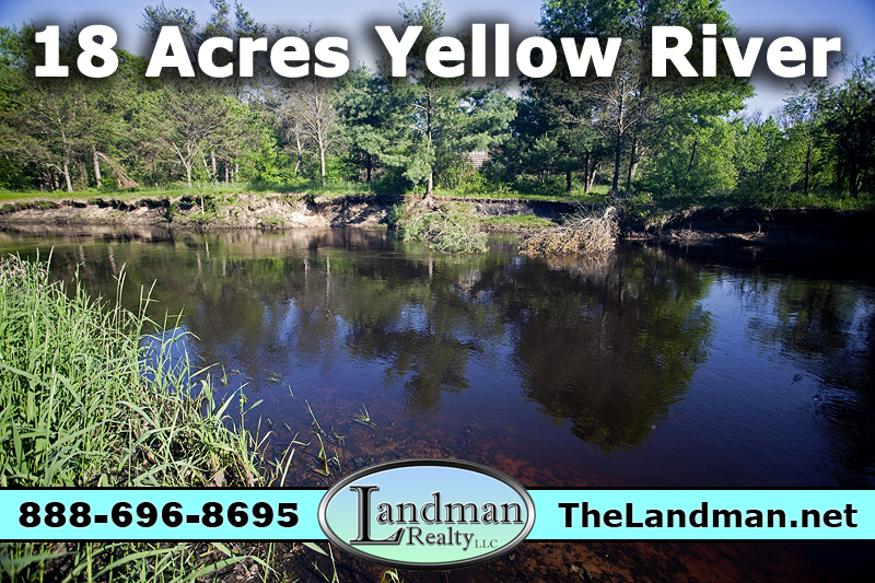 Over 18 Wooded Acres in recreational area