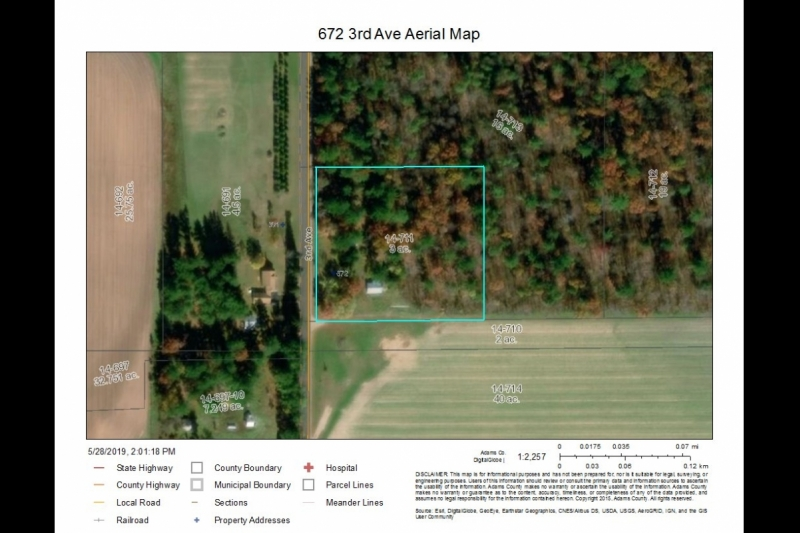 672 3rd Ave Aerial Map