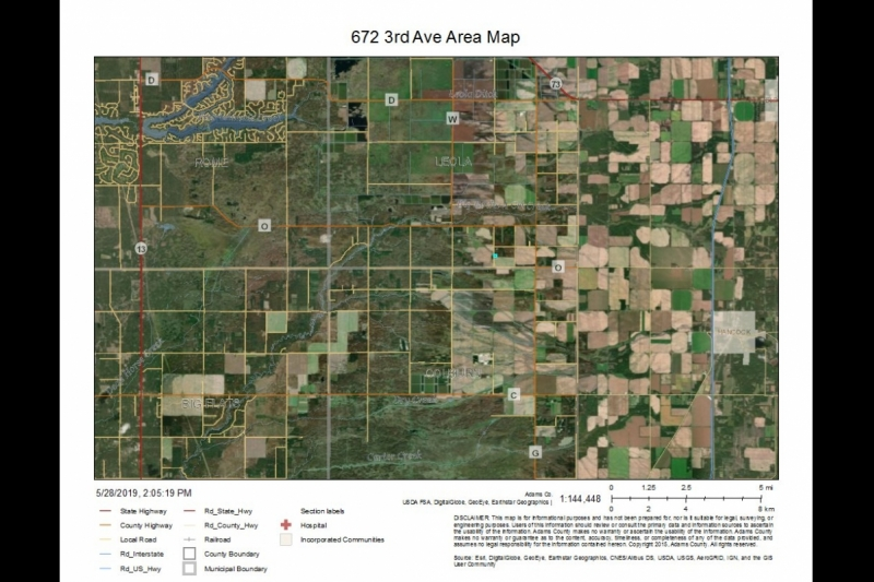 672 3rd Ave AREA Map