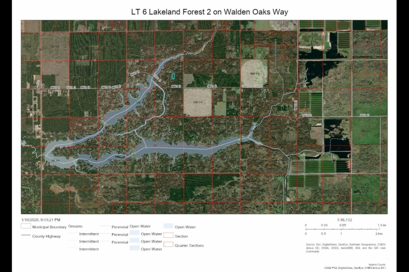 Lake Camelot Deeded Access Acreage Lot