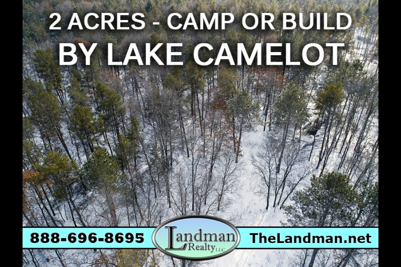 Camp or Building Lot for Sale by Lake Camelot!